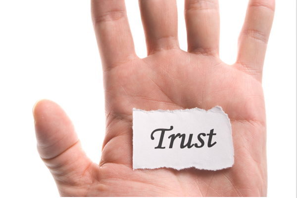 How do we build trust with an audience that does not trust us?