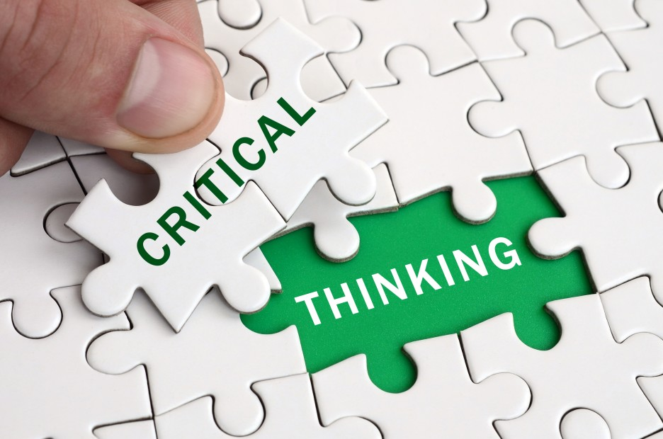Strengthen your critical thinking abilities